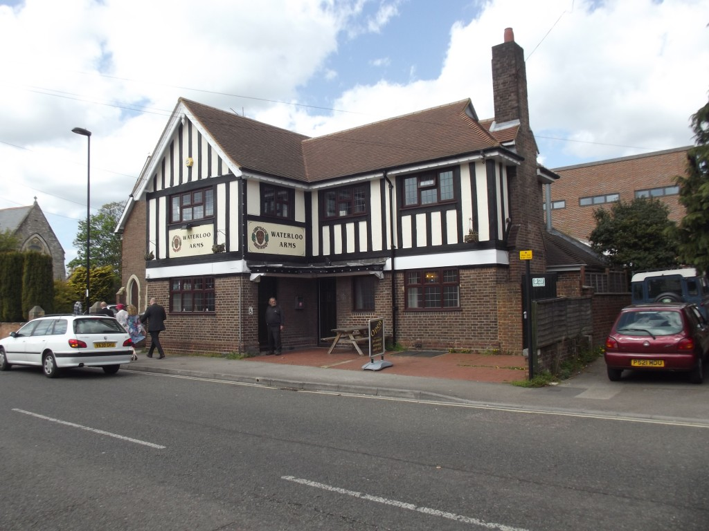 Waterloo Arms, Waterloo Road