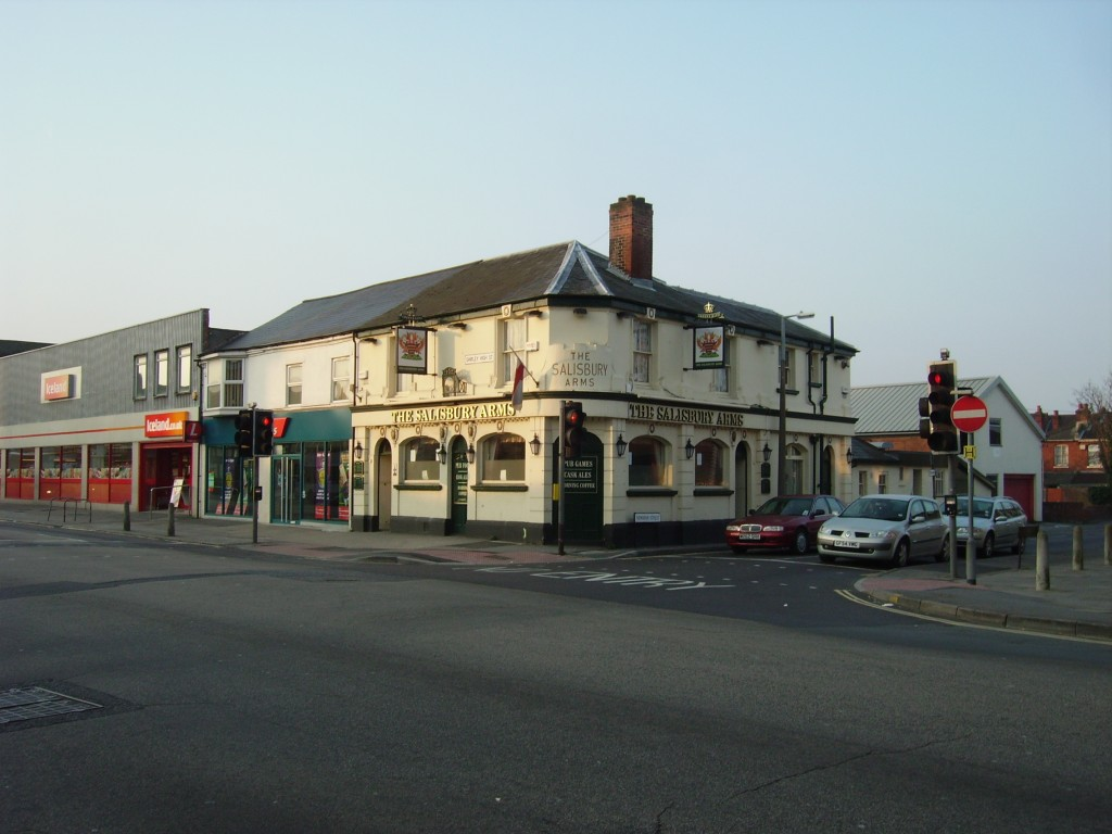 The Salisbury Arms in 2007. Again, I need to take a newer photo, although not much has changed.