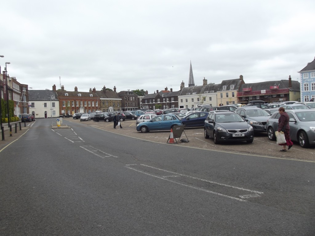 King's Lynn market square