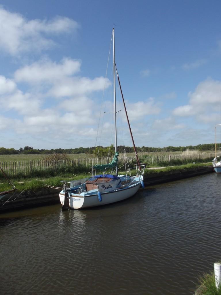 Boats at Horsey