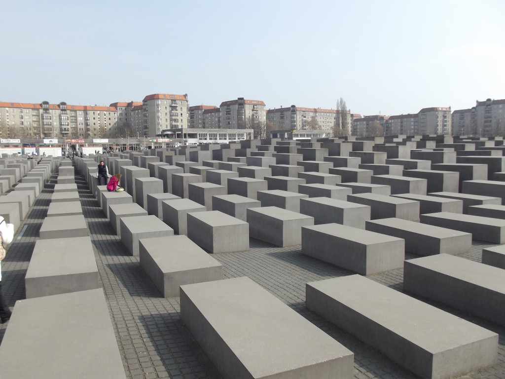 Memorial to the Murdered Jews of Europe, Eberstraβe.