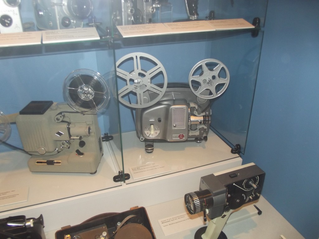 A Eumig P8 and Bolex Paillard 18-5 cine projectors (for 8 mm standard 8 film). I have both of these in my own collection and they are highly regarded.