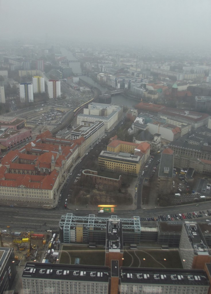 View from the Fernsehenturm, facing SE