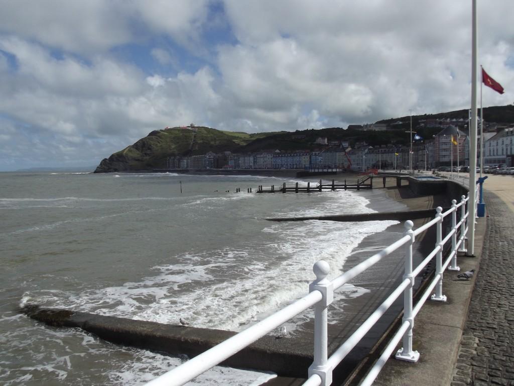 Aberystwyth seafront (North end)