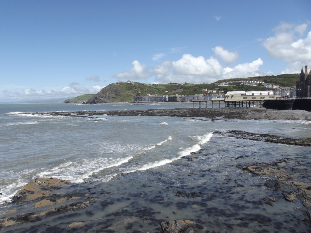 Aberystwyth seafront (south section)