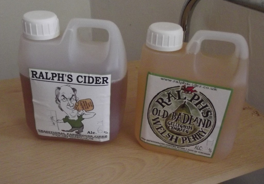 Ralph's Cider and perry; the real thing!