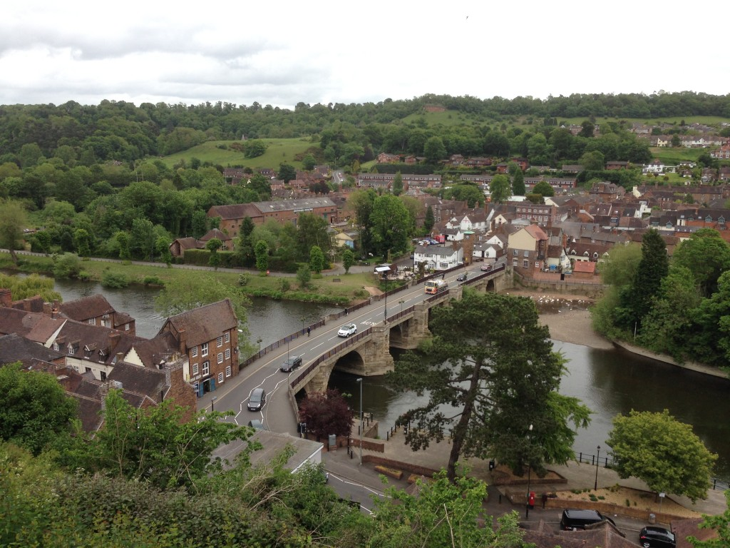 Bridgnorth and the River Severn