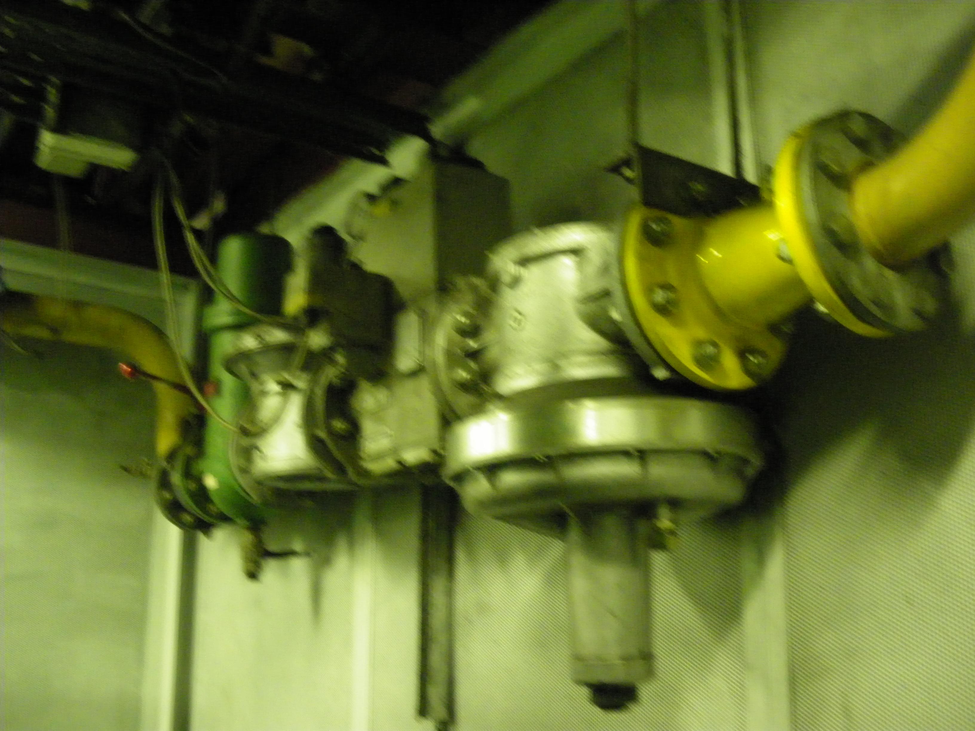 CHP gas feed