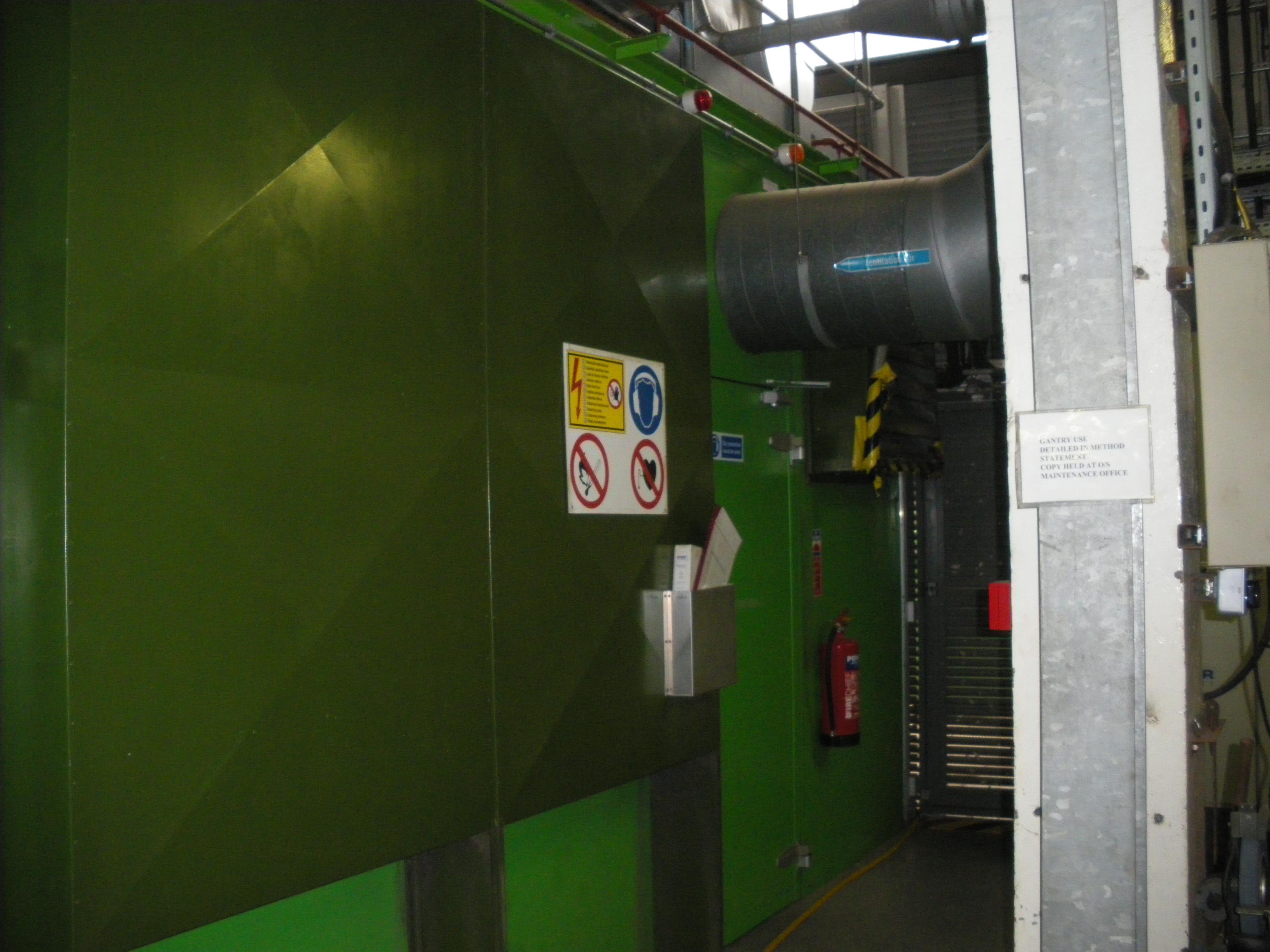 CHP acoustic enclosure