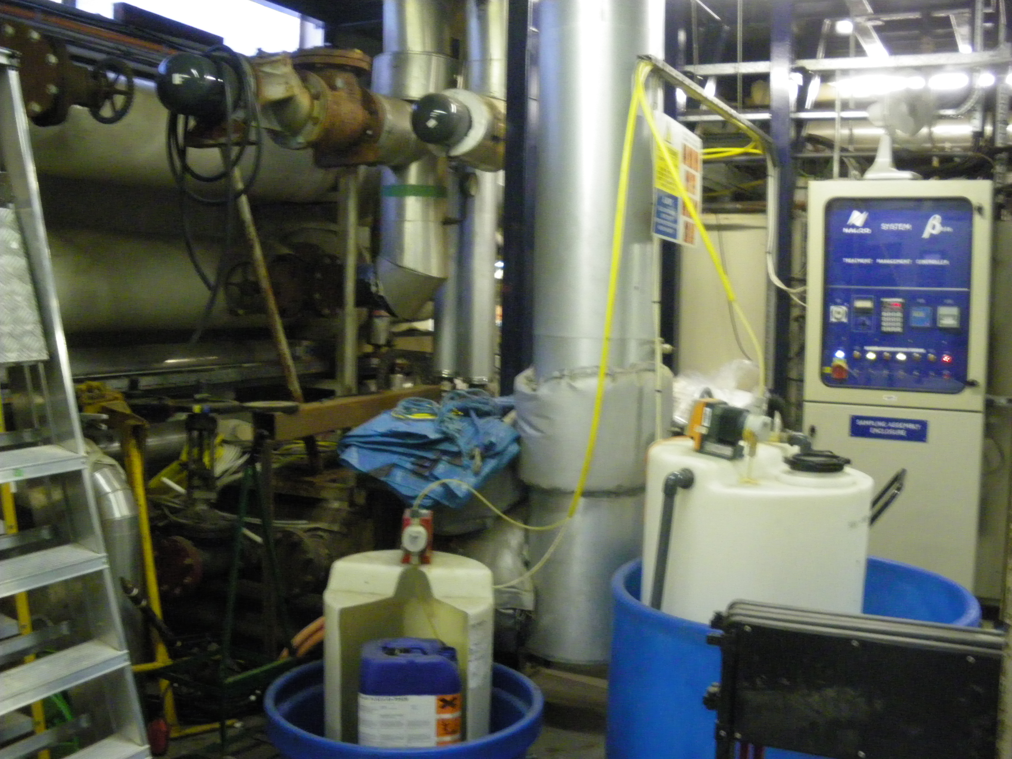 Chemicals for water treatment