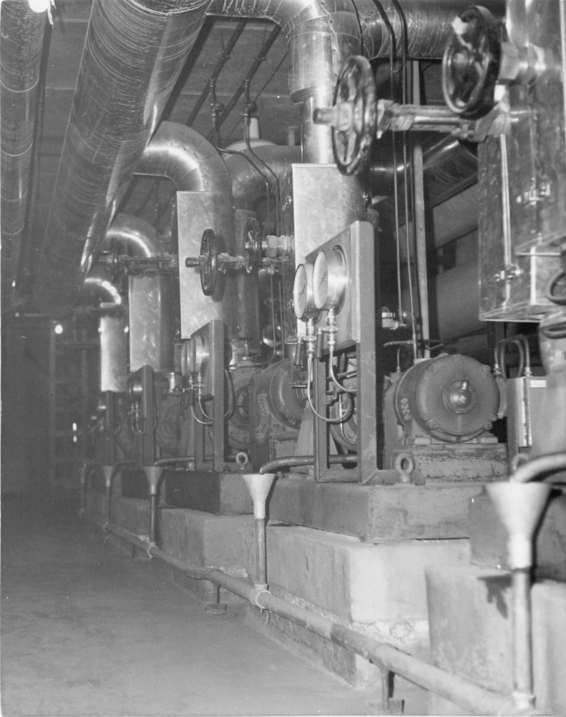 Boiler House pumps area
