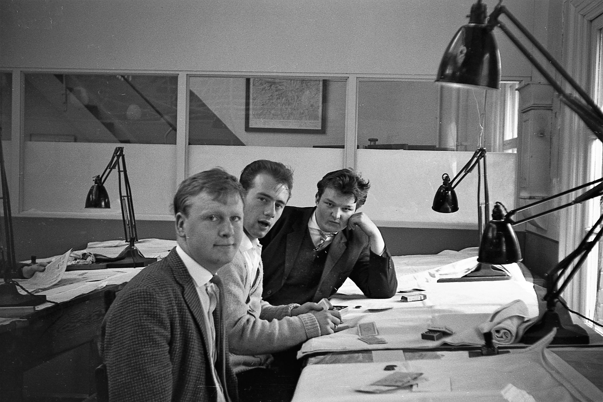 London Road Drawing School at lunchtime in 1961