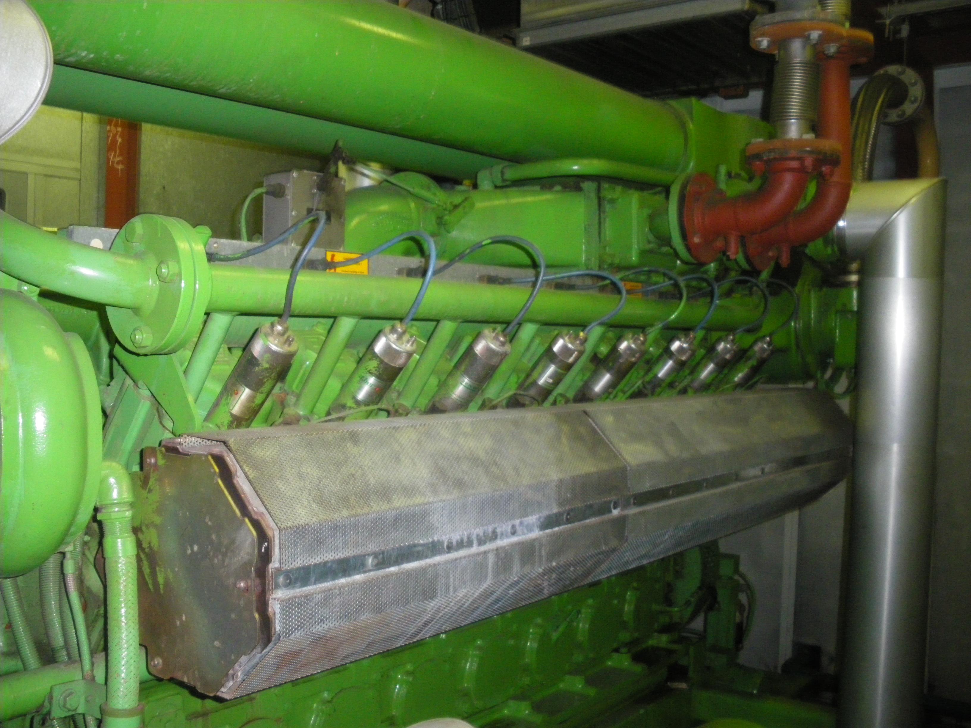 Jenbacher CHP engine