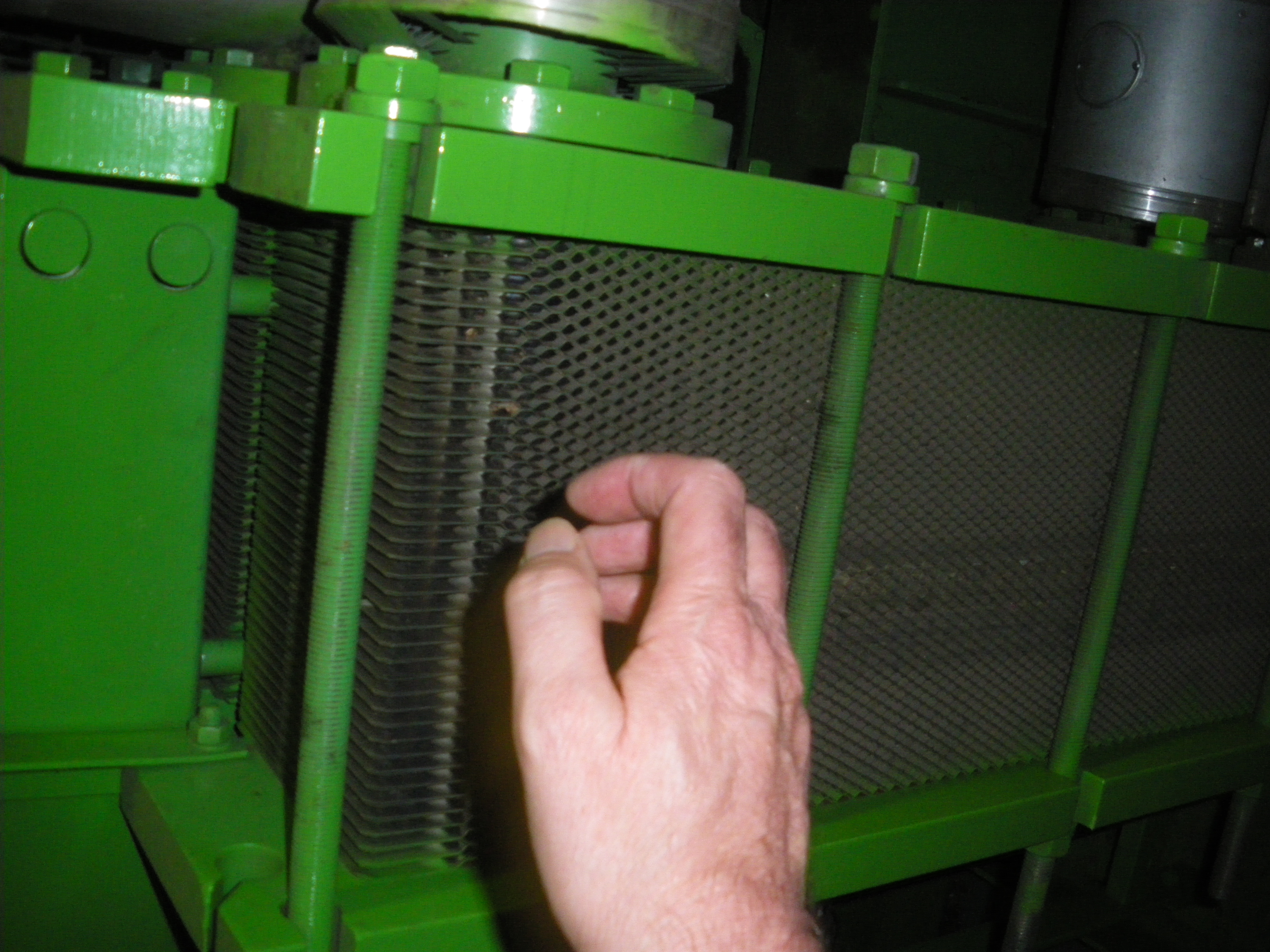 CHP plate heat exchanger