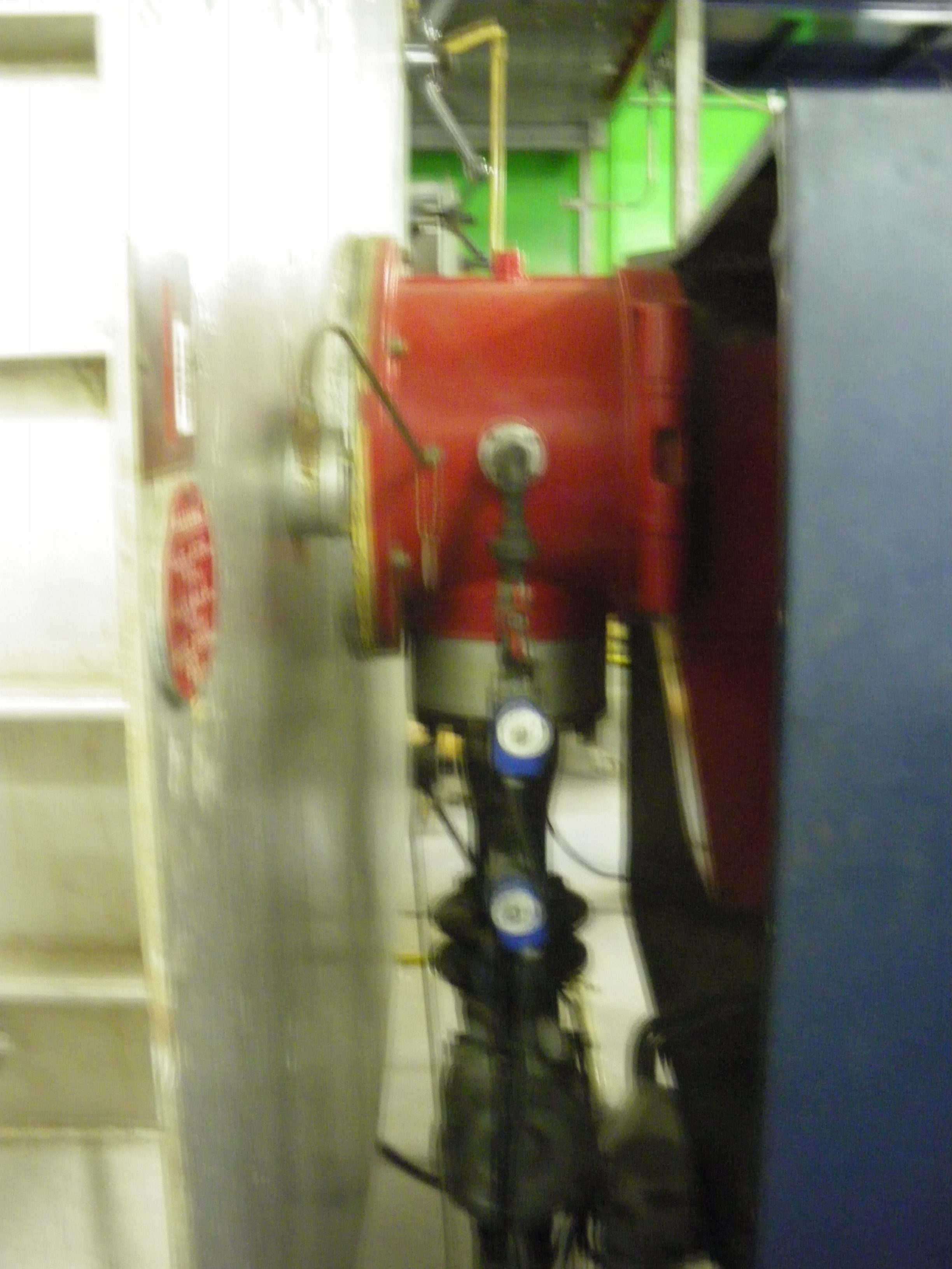 Weishaupt Boiler gas burner.
