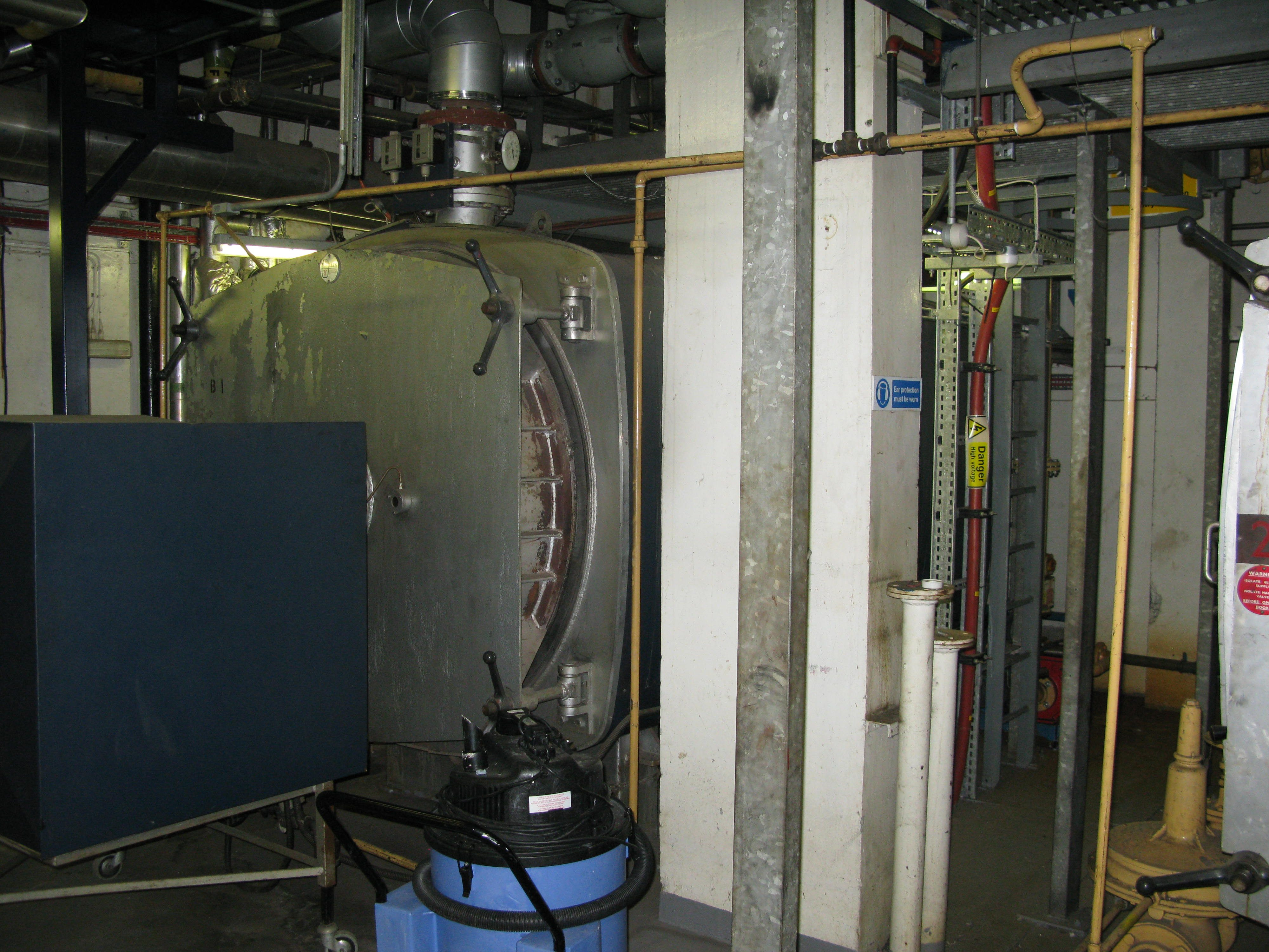 One of the main boilers