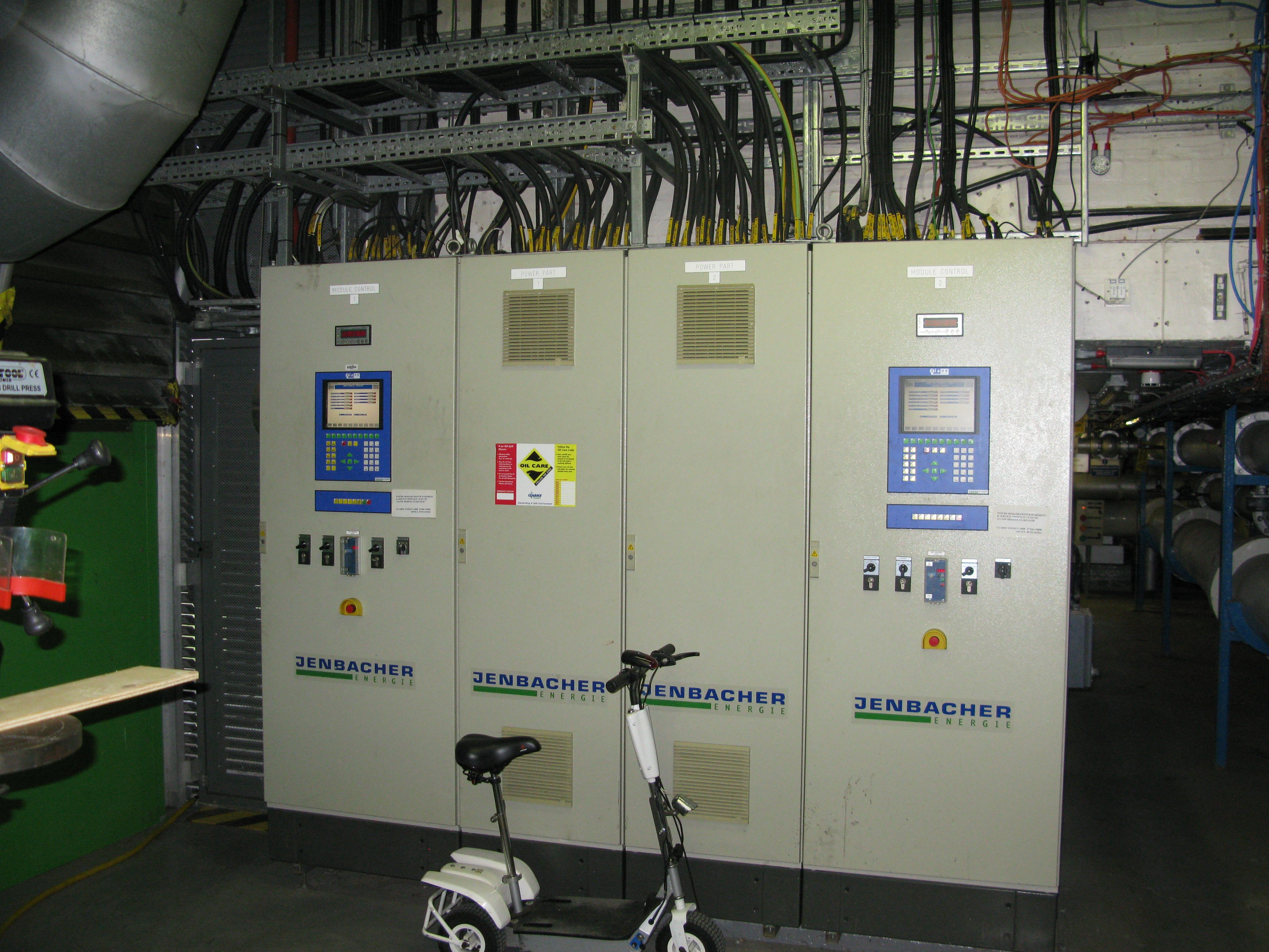 CHP control panels