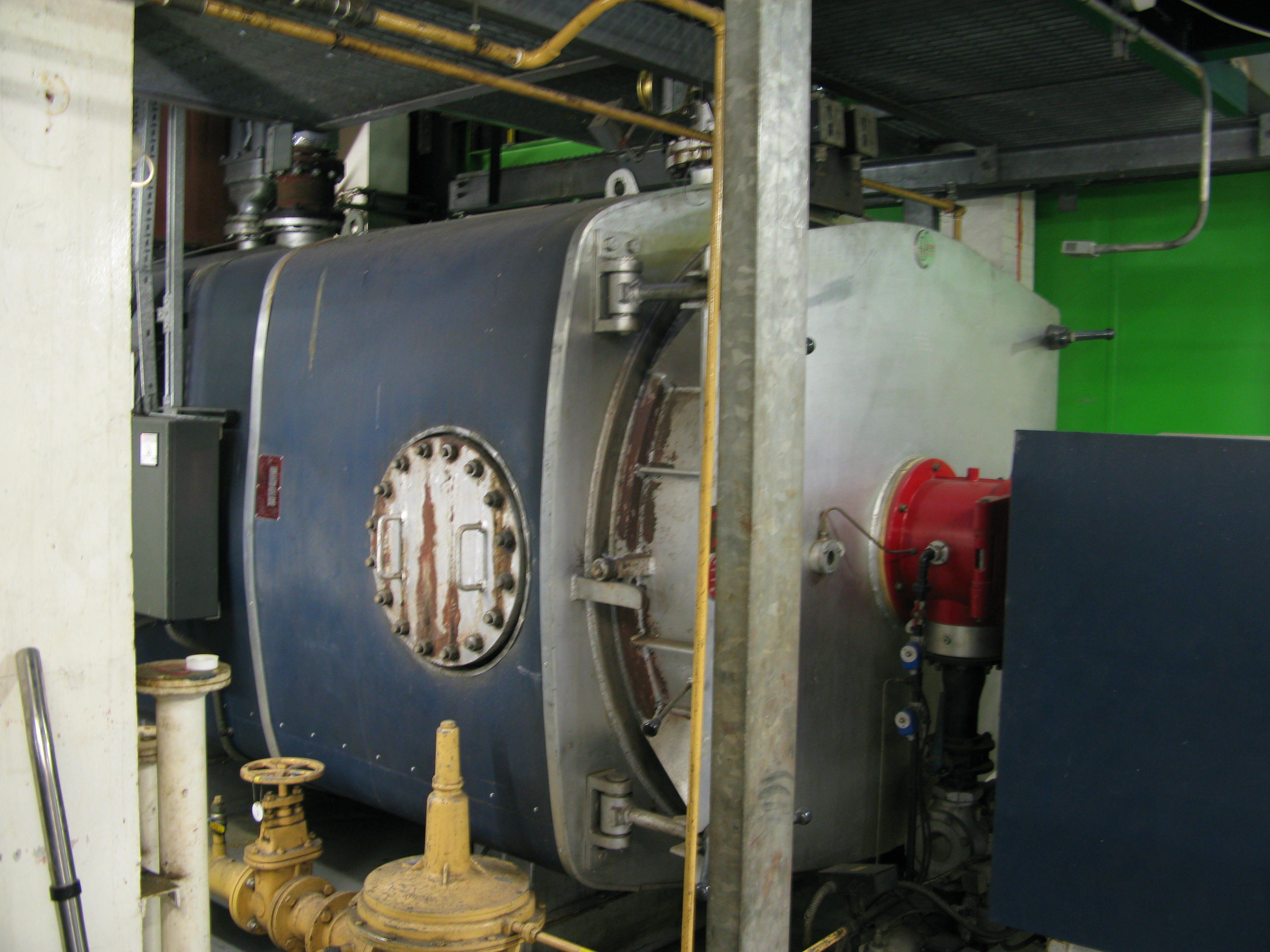 Ygnis Allen gas-fired boiler