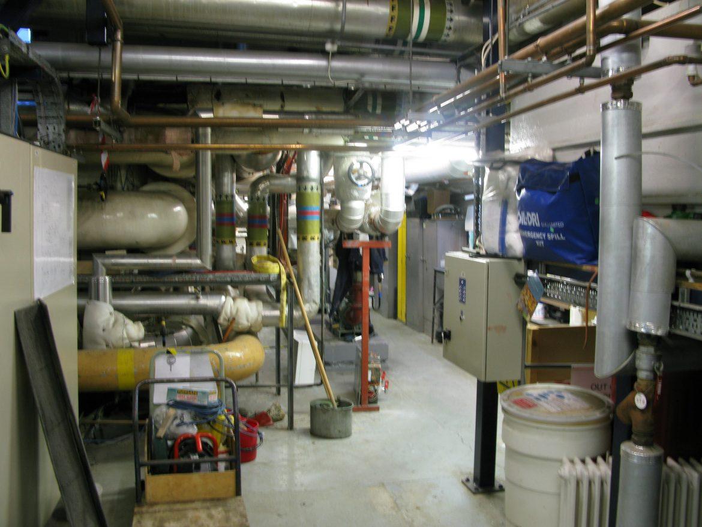 Boiler House, facing NE towards pump area
