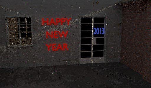 Happy New Year 2013 graphic