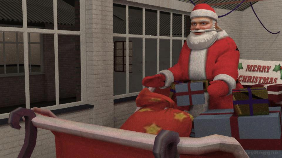 Christmas 2012 CGI scene