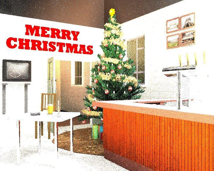 Merry Christmas 2015 CGI scene