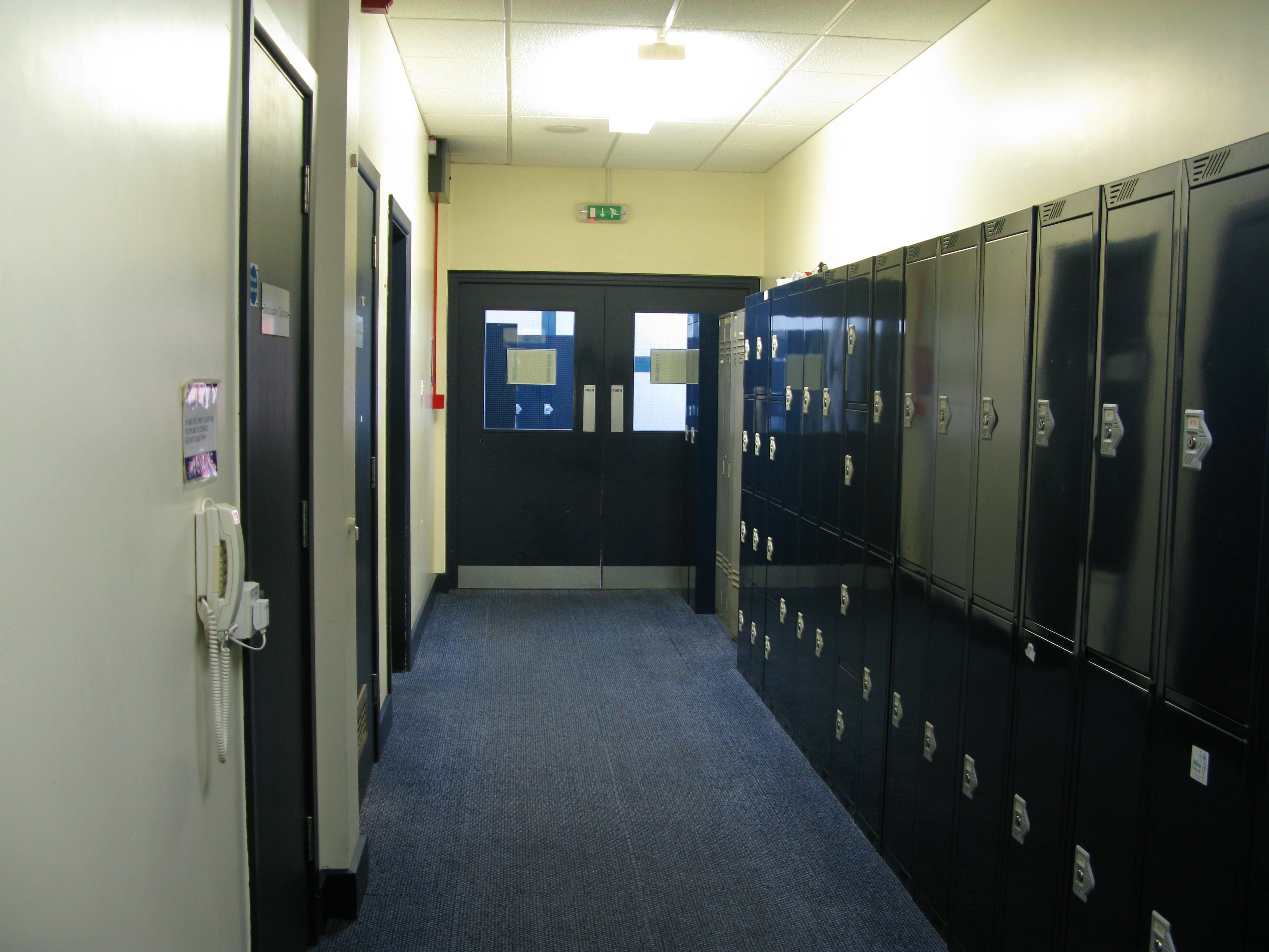 Services Block lockers